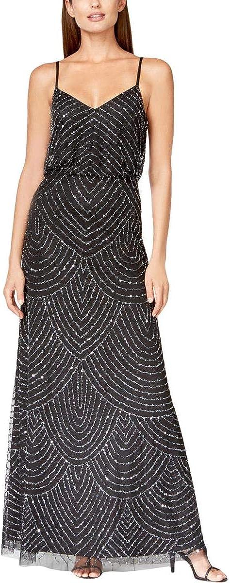 Adrianna Papell Women's Long Blouson Dress