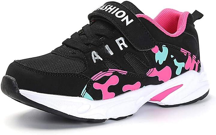 hsna scarpe da ginnastica bambina scarpe da correre sneakers leggere per ragazze(da 28 a 39 eu) 3317
