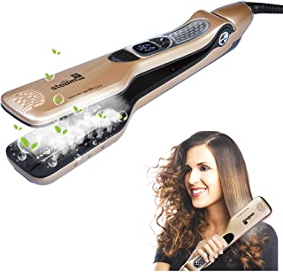 iGutech Hair Straighteners Flat Iron,professional steam hair