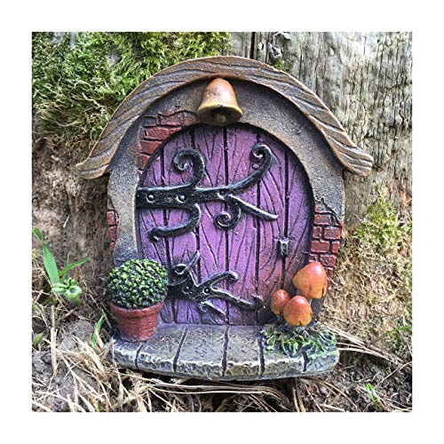 Miniature Hobbit, Pixie, Elf, Fairy Door - Tree Garden Home Decor - Fun Quirky Gift Figurine - H7cm