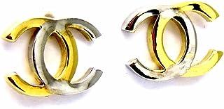 Pegaso Joyería–Pendientes oro amarillo y blanco 18kt a Lobo bicolor brillantes mujer niña