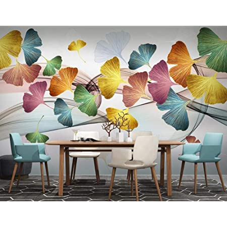 Details about  /3D Ginkgo Biloba R509 Business Wallpaper Wall Mural Self-adhesive Commerce Amy