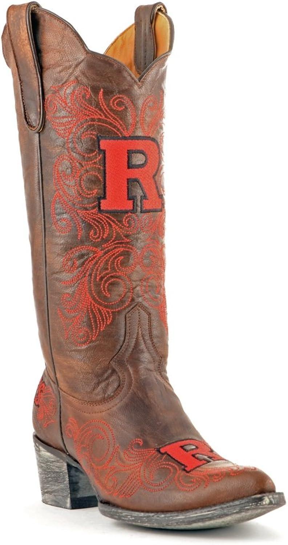 NCAA Womens Ladies 13 inch Rutgers University Gameday Boot