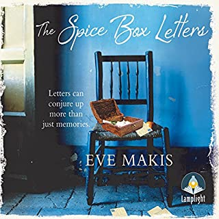 The Spice Box Letters                   By:                                                                                                                                 Eve Makis                               Narrated by:                                                                                                                                 Louise Barrett,                                                                                        Leighton Pugh                      Length: 7 hrs and 11 mins     3 ratings     Overall 3.7