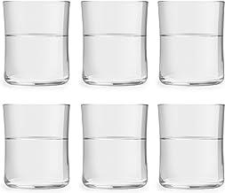 Libbey Vattenglas Minto - 35 cl / 350 ml - 6 stycken - modern design - elegant kurva - hög kvalitet - säker för diskmaskin