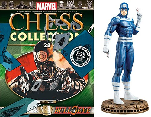 Eaglemoss Marvel Chess Figurine Collection Nº 28 Bullseye