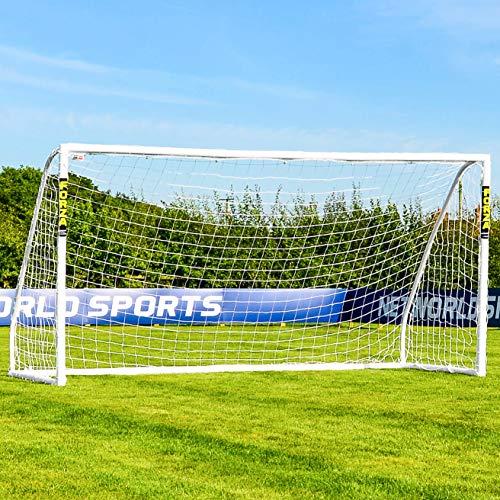 Net World Sports Forza Match Fußballtore – das Beste Tor bei jedem Wetter – 5 Größen (3,7m x 1,8m)