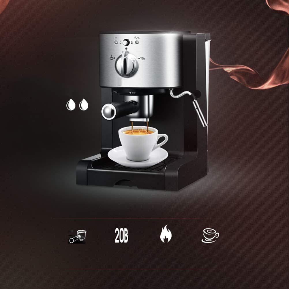 Wlylyhjy Espresso Cappuccino Máquina, Espresso Cafetera 20 Bar, Todo-en-uno para Café En Polvo, Cápsulas De Nespresso Y Paquetes De Café Espresso Portátiles Espumar La Leche Espuma: Amazon.es: Deportes y aire libre