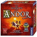 Kosmos 691745 - Die Legenden von Andor, Das Grundspiel, Kennerspiel des  Jahres 2013, kooperatives Fantasy-Brettspiel ab 10 Jahren