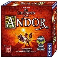 Die Legenden von Andor: Schützt gemeinsam das Land Andor und erlebt fantastische Abenteuer! für 2-4 Spieler