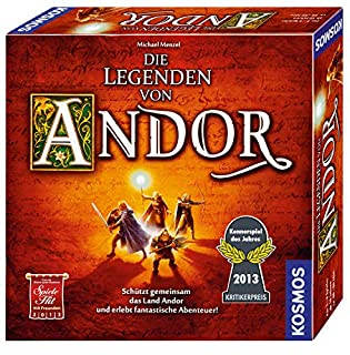 Kosmos 691745 - Die Legenden von Andor, Das Grundspiel, Kennerspiel des  Jahres 2013, kooperatives Fantasy-Brettspiel ab 10 Jahren (B0088UZZJK) | Amazon price tracker / tracking, Amazon price history charts, Amazon price watches, Amazon price drop alerts