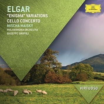 """Elgar:""""Enigma"""" Variations; Cello Concerto"""