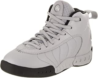 Jumpman Pro BP Little Kids Shoes Wolf Grey/White/Black 909419-004