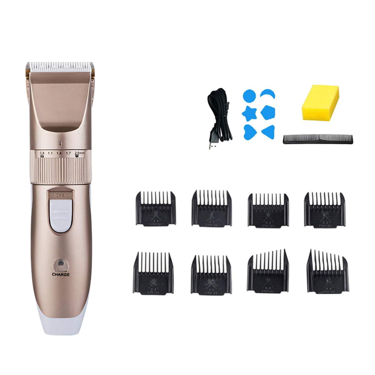 Max 76% Sales results No. 1 OFF 10-in-1 Hair Clippers for Men Beard Kit Trimmer Body Grooming