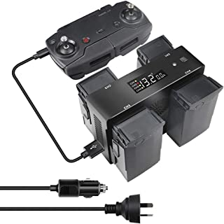 $64 » RONSHIN Smart Battery Charger for DJI Mavic Air Drone Remote Control Plane Power Supply Digital Display USB Port Charger Hub Australian regulations Electronic Accessories