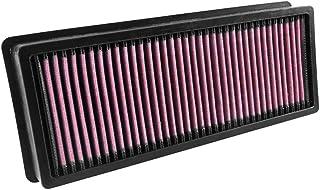 K&N 33 3029 Motorluftfilter: Hochleistung, Prämie, Abwaschbar, Ersatzfilter, Erhöhte Leistung, 2006 2018, Grand Cherokee IV, 300C