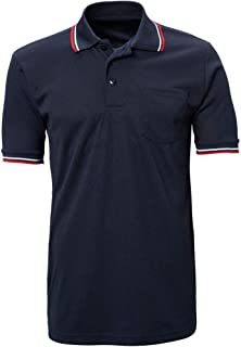 CHAMPRO Umpire Polo Shirt; Adult Navy