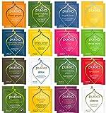 Blue Ribbon Pukka Tea Bags Sampler Assortment Variety Pack Gift Box - 48 Count - Perfect Variety – Pukka Detox Tea, Pukka Herbs, Pukka Night Time, Pukka Love Tea and more …