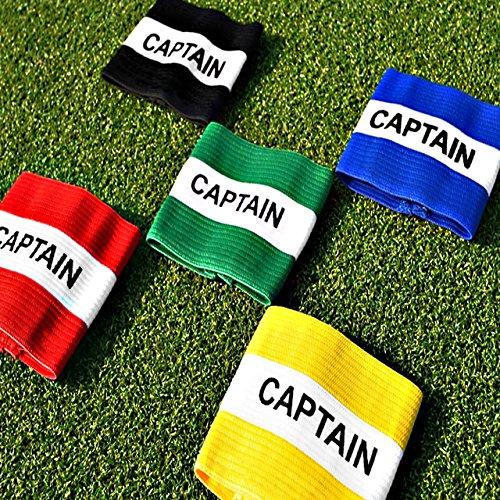 FORZA Fasce da Capitano Giovanili, Adulti e Professionisti | Fasce da Capitano di Calcio | 12 Colori Disponibili (Adulti, Giallo)