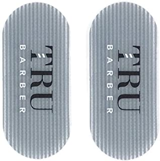 TRU BARBER Hair Grippers for Men and Women - Salon and Barber, Hair Clips for Styling, Sectioning, Cutting and Coloring, Nonslip Grips, Hair Holder (Grey)