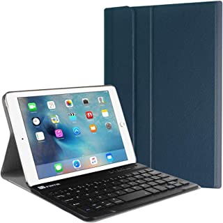 Fintie iPad Mini 4 Keyboard Case - Blade X1 Slim Shell Lightweight Cover w/Magnetically Detachable Wireless Bluetooth Keyboard for Apple iPad Mini 4 (2015 Release), Navy Blue