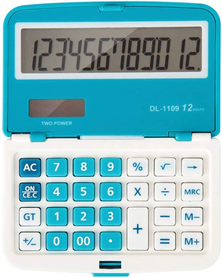 sgzyj 12 Digits Solar Folding At the price of surprise Office Calculator Mini New life Dual Power