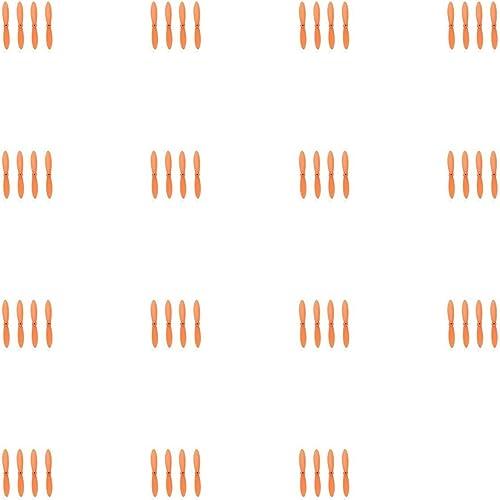 15 x Quantity of WLtoys V292 All Orange Nano Quadcopter Propeller blade Set 32mm Propellers Blades Props Quad Drone parts - FAST FROM Orlando, Florida USA