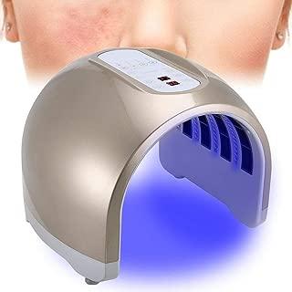4 Colores Led Lampara Aparato Cabina de Máquina de Belleza de Facial de PDT, Lámpara de Tonificadores de Terapia de Luz LED para Rejuvenecimiento de piel y Cuidado de la piel(01)