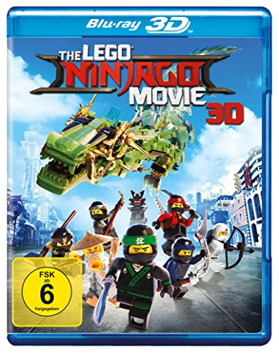 The LEGO Ninjago Movie [3D Blu-ray]