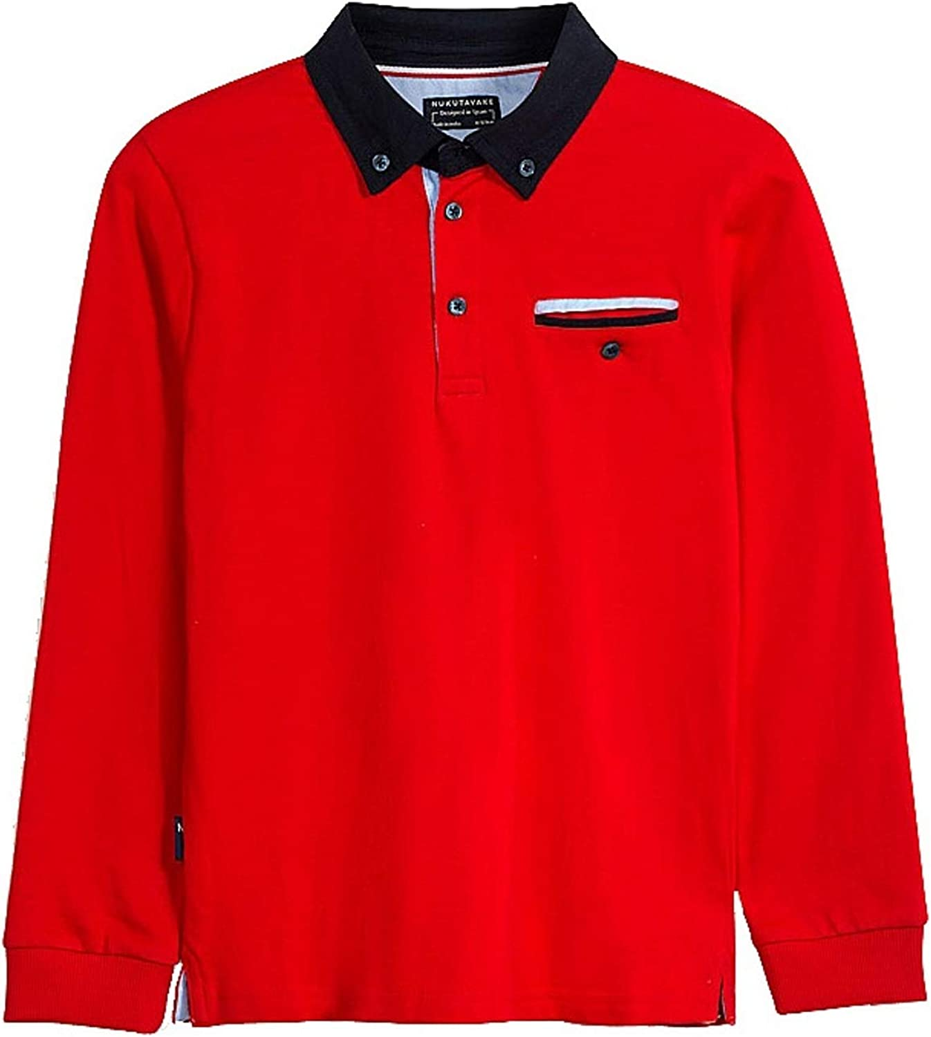 Mayoral - L/s Polo for Boys - 7124, Red