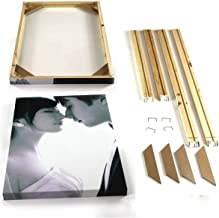 Natural Wood Frame for Canvas Painting Picture Factory Provide DIY Wall Photo Frame Poster Frame,Width 30cm,Height 20