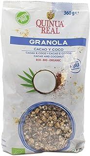 Granola de quinoa real con cacao y coco sin gluten BIO - Quinua Real - 360g