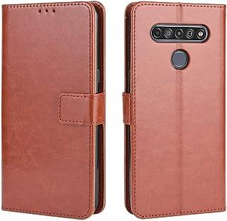 حالات LG For LG K41S / K51S Retro Crazy Horse Texture Horizontal Flip Leather Case, with Holder & Card Slots & Photo Frame...