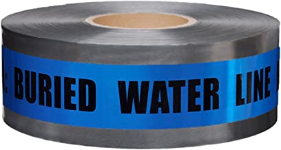 Presco Underground Detectable Warning Tape: 3 in. x 333.3 yds. (Blue with Black