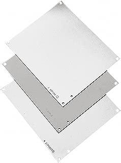 Hoffman A16P14G Panel, J-Box, Steel, Aluminum and Conductive Panels for JIC Enclosure, Fits 16