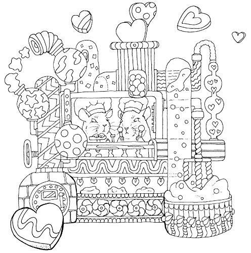 物語のある美しい塗り絵ロマンチック・ジャーニー(大人の塗り絵)