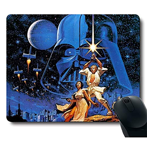 Cool Black Knight Soldier Brave Warrior Awesome Classic Movie Unique Design Customized Rectangle Gaming Black Mouse Pad