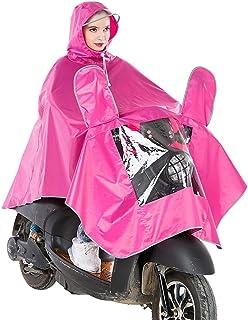 通気性のある バイク 電気自動車 レインコート 大人 薄くて軽い 通気性のある 大きな帽子 ポンチョ