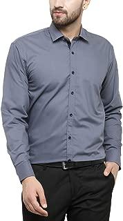 JAINISH Men's Plain Regular Fit Formal Shirt