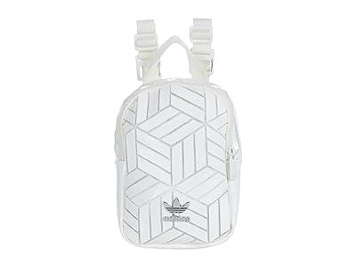 adidas 3D Mini Backpack (White) Backpack Bags