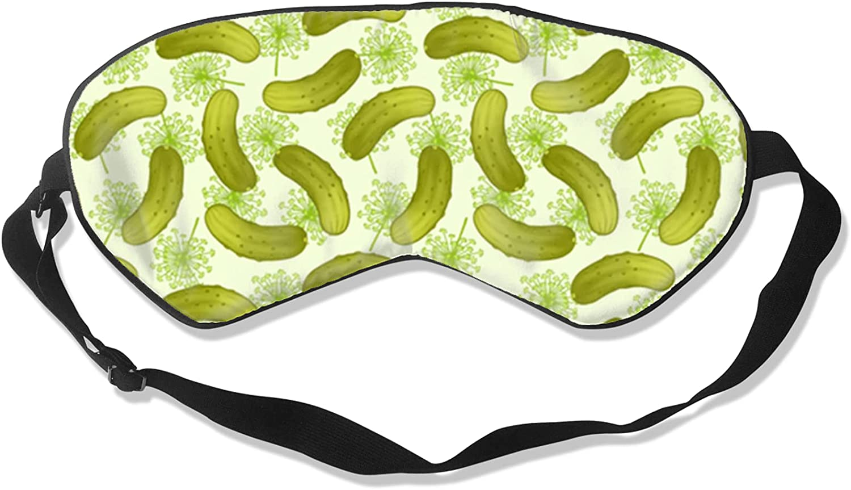 Over item handling ☆ Pickle Recommendation Fabric Sleep Eye Mask Comfortable Blocking Blindfol Light