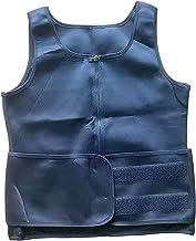 Hhwei Mannen Sauna Vest Hot Neopreen Zweet Vest Taille Trainer Tank Top Body Shaper Corset Compressie Workout