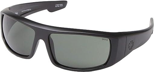 Matte Black Ansi RX/HD Plus Gray/Green