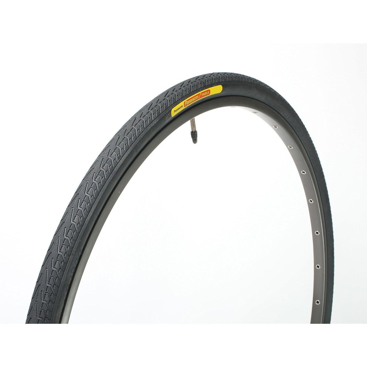 間接的批判する裁判所パナレーサー(Panaracer) クリンチャー タイヤ [700×28C] パセラ ブラックス 8W728-18-B ブラック ( クロスバイク ロードバイク / 街乗り 通勤 ツーリング ロングライド用 )