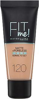 73c8edc0c Maybelline New York Base de Maquillaje Fit Me (Mate y Sin poros), Tono