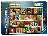Ravensburger - Puzzle de 500 Piezas, diseño Vintage de Biblioteca