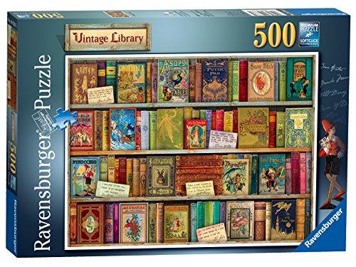 Ravensburger- Vintage Library 500 Piezas Rompecabezas para Adultos y niños a Partir de 10 años (FBA_14733)