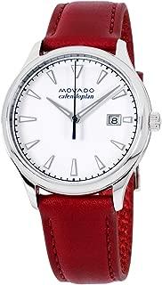 Movado Heritage Calendoplan Quartz Movement White Dial Ladies Watch 3650032