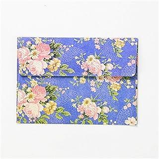 CHUJIAN 5pcs Little Fresh Flowers Envelopes Wedding Party Postcard Invitation Card Paper Bags Letter Paper Cover Christmas...