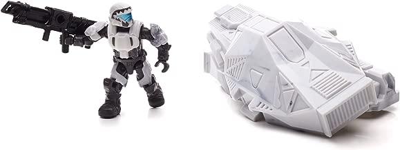 Mega Bloks Halo Drop Pod Metallic Arctic ODST Toy Figure